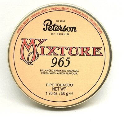 Peterson Dunhill My Mixture 965 Pipe Tobacco 50g