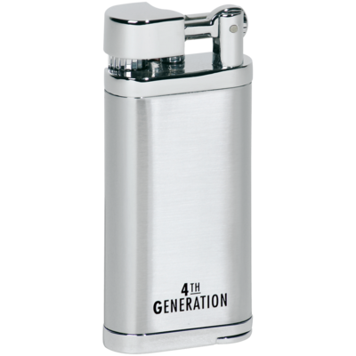 4th Generation Pipe Lighter Silver
