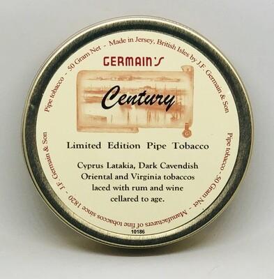 JF Germain Century Pipe Tobacco 50g Tin