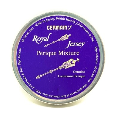 JF Germain Perique Mixture Pipe Tobacco 50g Tin