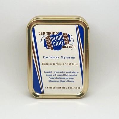 JF Germain Plum Cake Pipe Tobacco 2 oz Tin