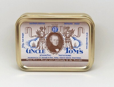 JF Germain Uncle Toms Pipe Tobacco 2 oz Tin