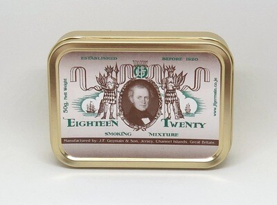 JF Germain Eighteen Twenty Pipe Tobacco 2 oz Tin