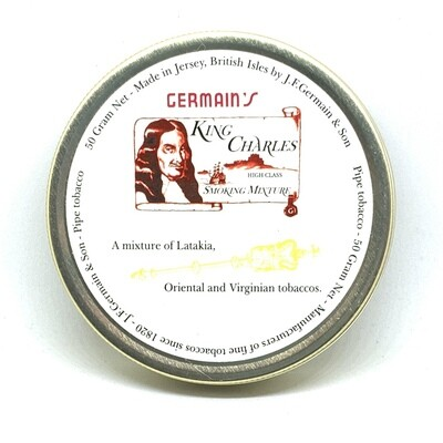 JF Germain King Charles Mixture Pipe Tobacco 50g Tin