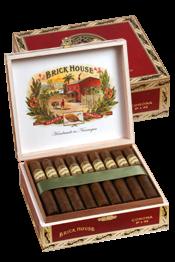 Brickhouse Corona Larga 6x46 Natural Box/24