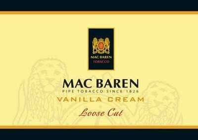 Mac Baren Vanilla Cream Loose Cut Bulk Pipe Tobacco
