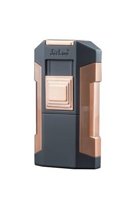 Jetline Avalanche Quad Torch Table Cigar Lighter Copper