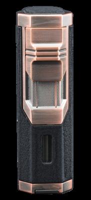 Jetline Challenger Triple Torch Cigar Lighter Copper