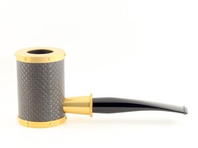 Tsuge GA Yoroi Carbon Gold Pipe