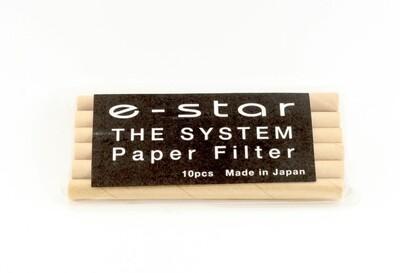 Tsuge E-Star Paper Pipe Filters