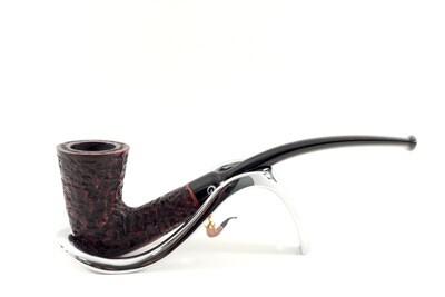 Peterson Calabash Pipe Rustic