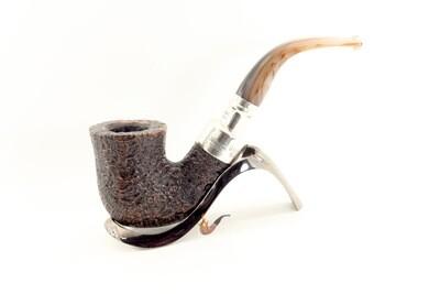 Peterson Roundstone Silver Spigot Pipe 05