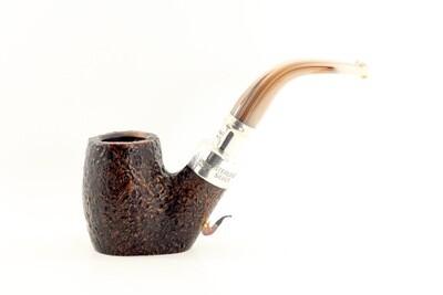 Peterson Roundstone Silver Spigot Pipe 306