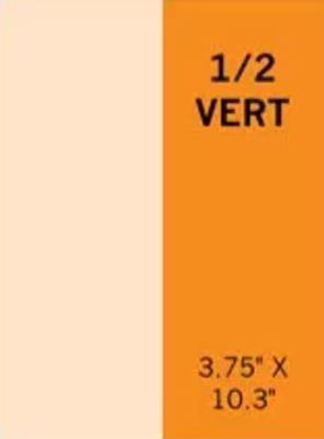 One-Half Vertical