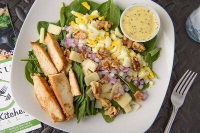 Chicken Spinach Salad