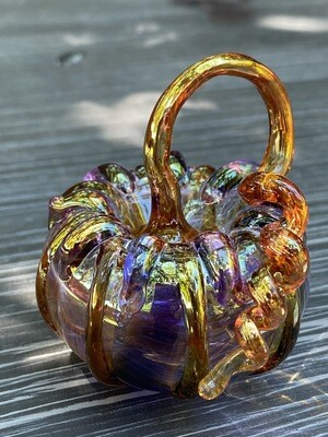 Glass Mini Pumpkin 309-58