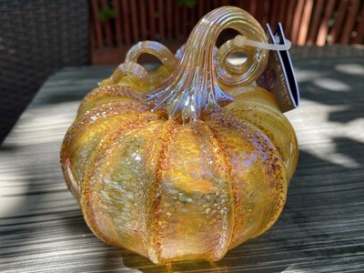 Glass Pumpkin 405-168