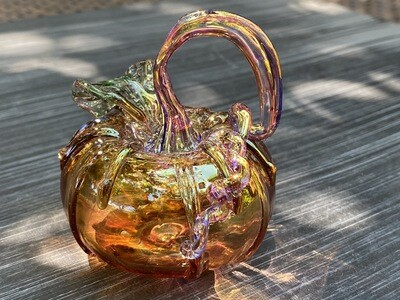 Glass Mini Pumpkin 322-58