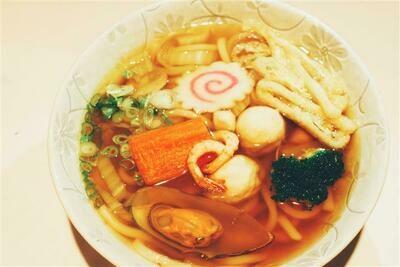 Seafood Udon
