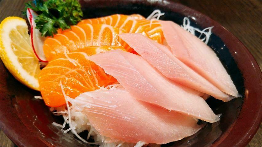 Tuna & Salmon Don