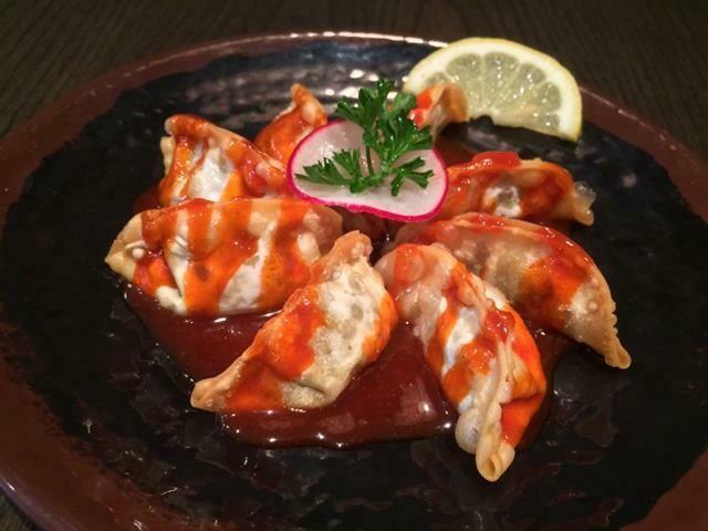 Spicy Gyoza