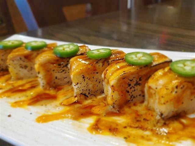 Salmon Aburi Oshi