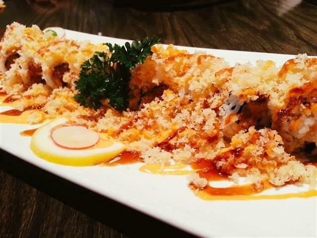 Spicy Tuna Crunch Roll
