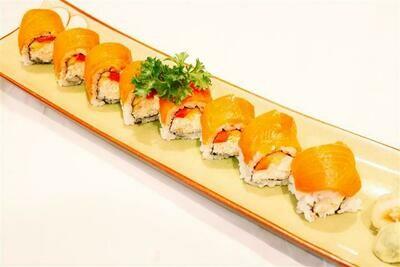 Smoked Salmon Cream Cheese Roll