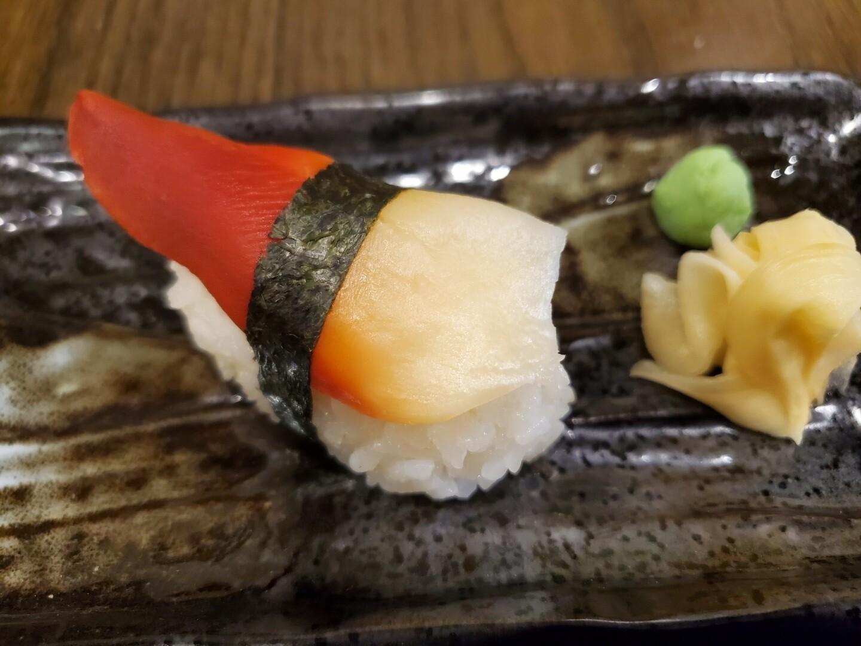 Hokkigai Nigiri