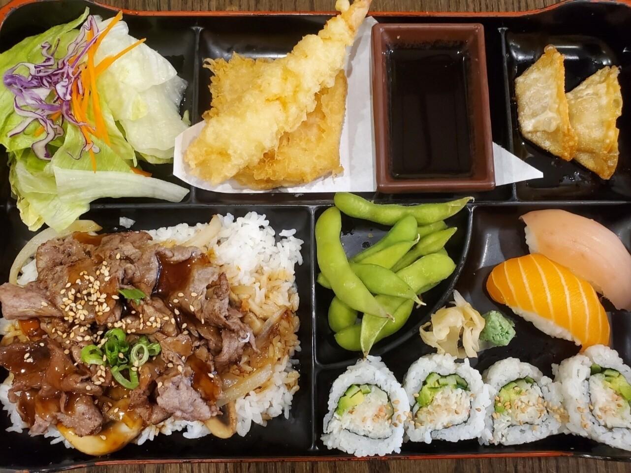 Heaven Teriyaki Bento (Beef)