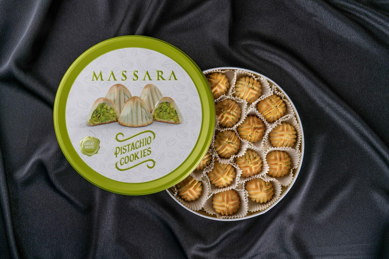 MASSARA Pistachio Cookies (Vegan)