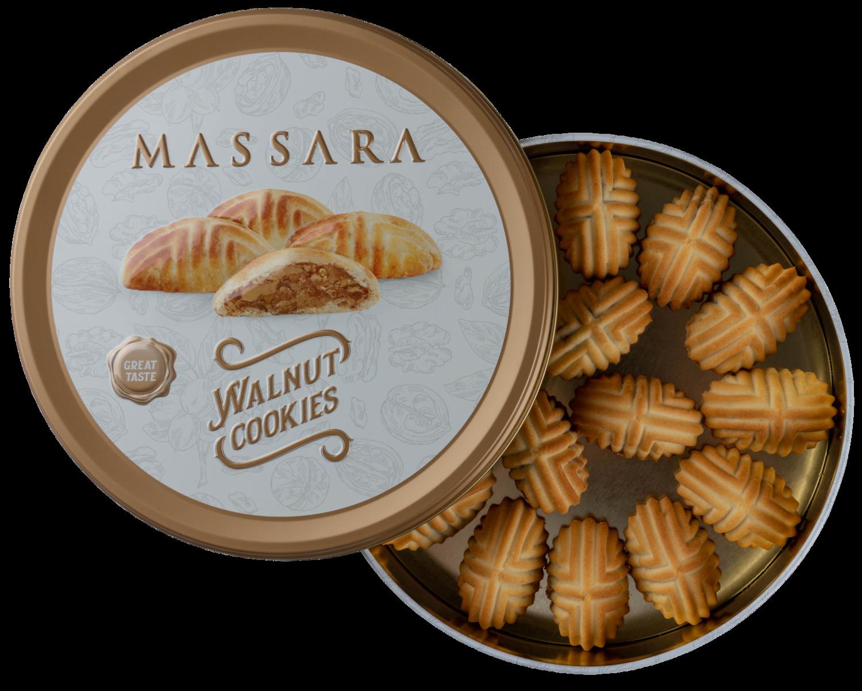 MASSARA Walnut Cookies (Vegan)