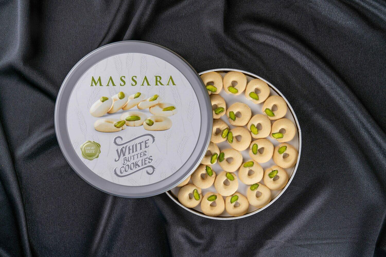 MASSARA White Butter Cookies