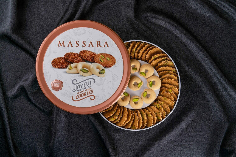MASSARA Joyful (Crunchy Sesame & White Butter Cookies)