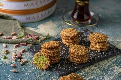 MASSARA Crunchy Sesame Cookies