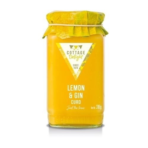 Lemon & Gin Curd
