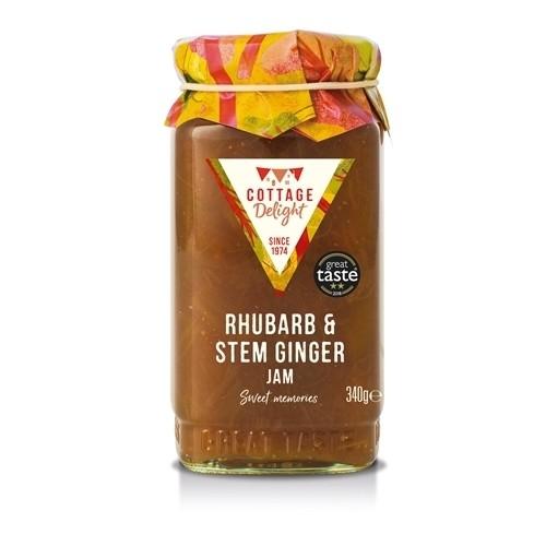 Rhubarb & Stem Ginger Jam