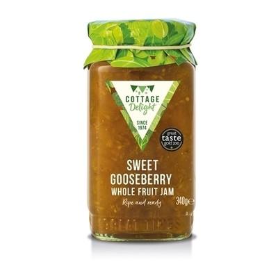 Sweet Gooseberry Whole Fruit Jam
