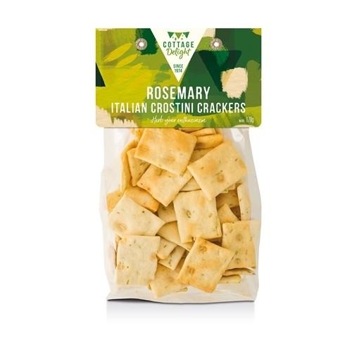 Rosemary Italian Crostini Crackers