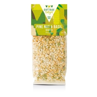Pine Nut & Basil Risotto