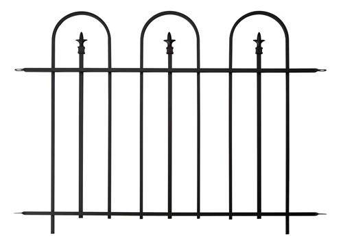 Triple Arch Finial Fence 91cm x 121cm