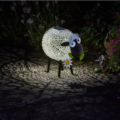 Solar Silhouette Dolly Sheep