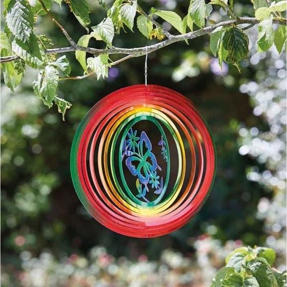 Butterfly Rainbow Spinner 30cm