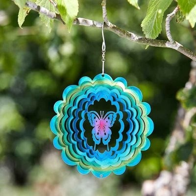 Butterfly Rainbow Spinner 15cm