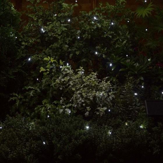 Solar Strings 50 White LEDs