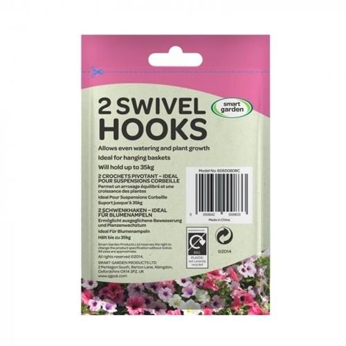 Swivel Hooks, 2 Pack