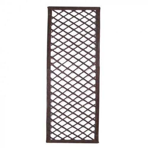 Extra Strong Framed Willow Trellis Square 1.2 x 0.45m