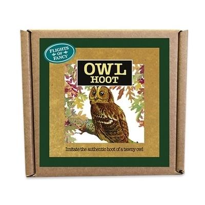 Handmade Tawny Owl Hoot Call