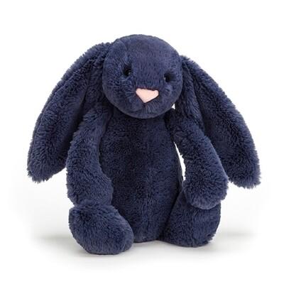 Bashful Navy Bunny - Small
