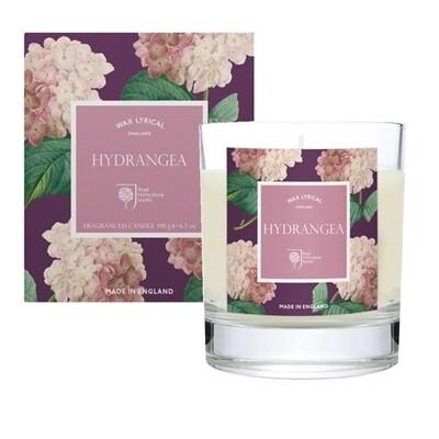 Hydrangea Candle